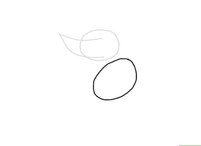 Prent getiteld Teken `n Monster Stap 3