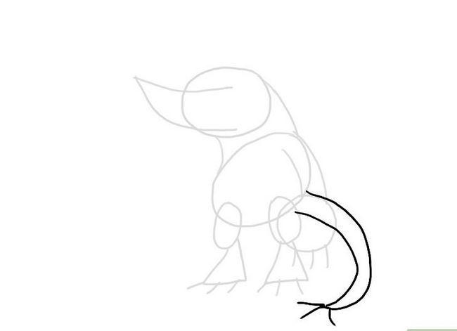 Prent getiteld Teken `n Monster Stap 7