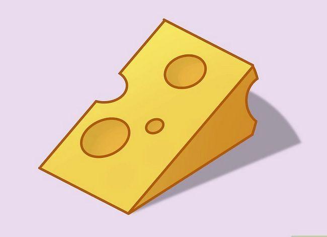 Prent getiteld Teken `n Cartoon Cheese Step 08