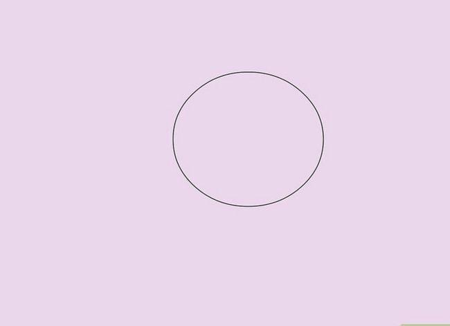 Prent getiteld Teken `n Realistiese Menslike Portret Stap 13