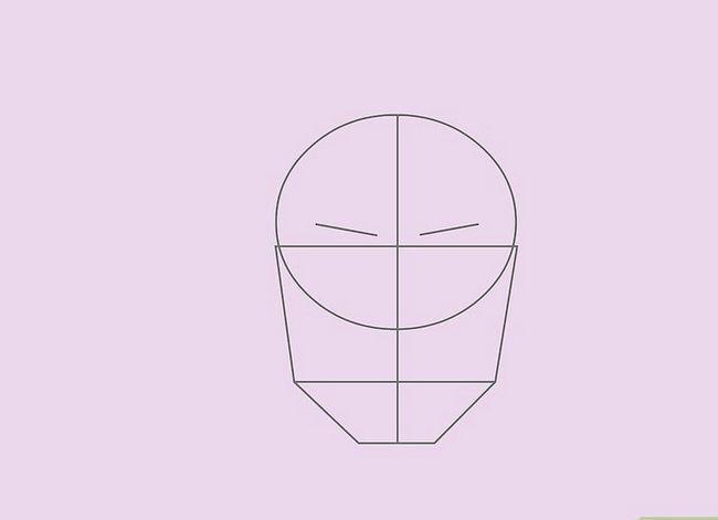 Prent getiteld Teken `n Realistiese Menslike Portret Stap 17