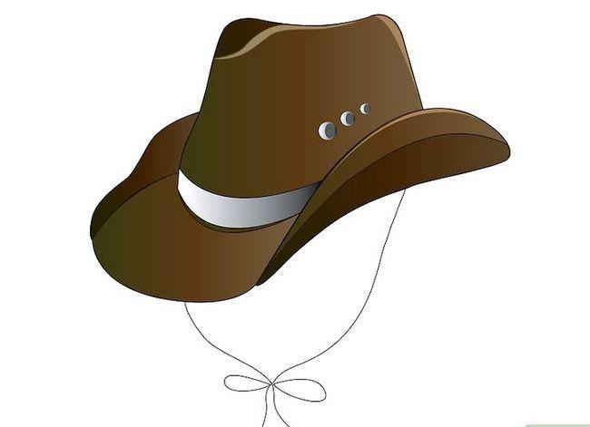 Prent getiteld Teken `n Cowboy Hat in Adobe Illustrator CS3 Stap 8