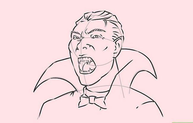 Prent getiteld Teken `n Vampier Stap 20