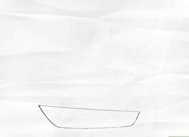 Prent getiteld Teken `n Seilboot Stap 1