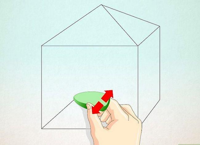 Prent getiteld Teken `n eenvoudige huis Stap 22