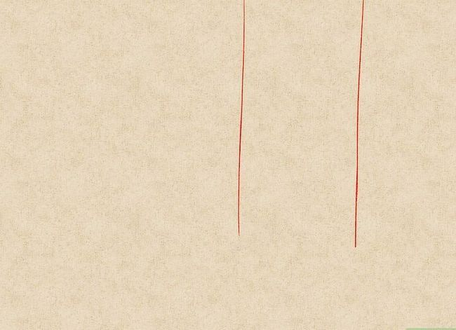 Prent getiteld Teken `n waterval Stap 8
