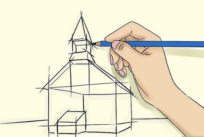 Prent getiteld Teken `n Kerk Stap 2
