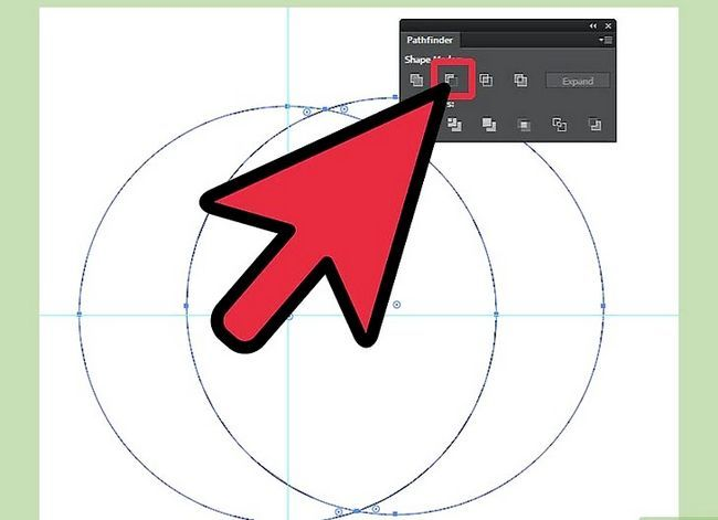Prent getiteld Teken `n maan in Adobe Illustrator Stap 4