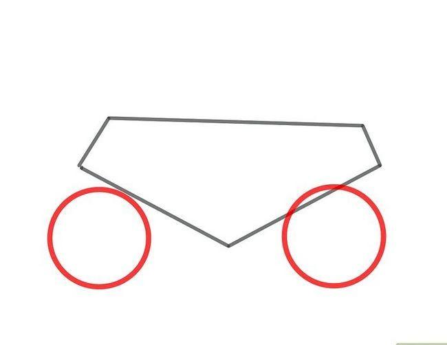 Prent getiteld Teken `n motorfiets stap 2