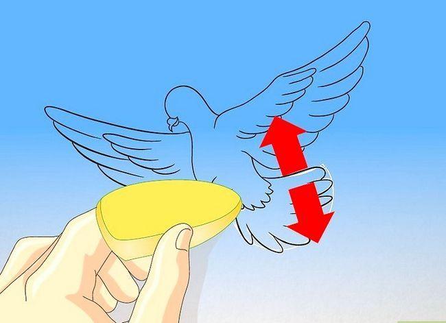 Prent getiteld Teken `n duif Stap 13