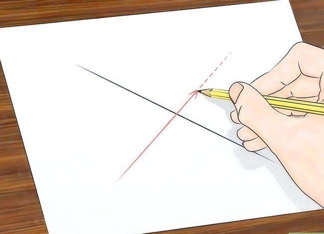 Prent getiteld Teken `n Spinnekop Web Stap 4