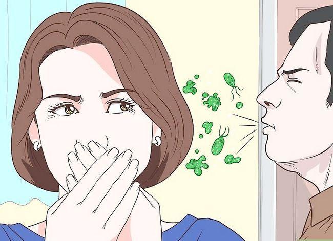 Prent getiteld Vertel `n virus van `n Bakteriese Infeksie Stap 5