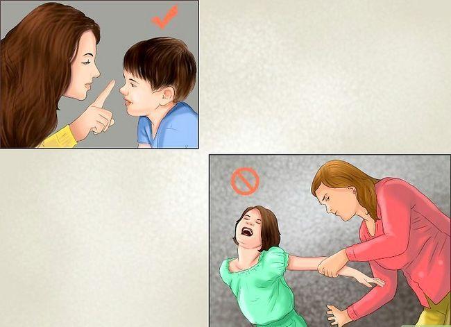Prent getiteld Dissipline a 4 Year Old Step 6