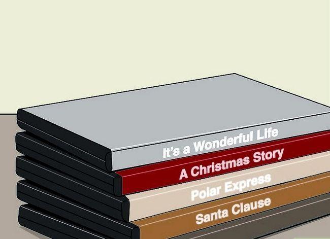 Prent getiteld Geniet Kersfees Dag Spandeer alles deur jouself Stap 10