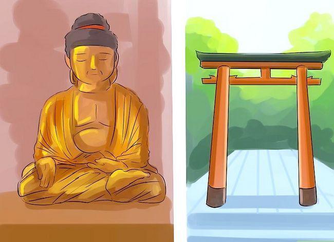 Prent getiteld Onderskei tussen Japannese en Chinese kulture Stap 7