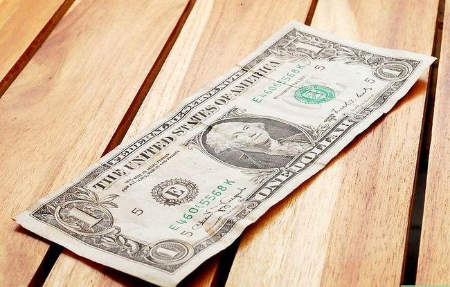 Prent getiteld Vou Dollar Bill Presiese Derde Stap 1
