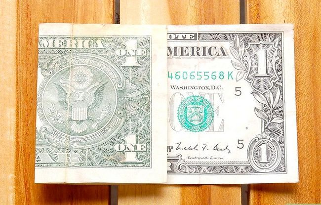 Prent getiteld Vou Dollar Bill Presiese Derde Stap 3