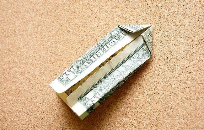 Prentjie getiteld Vou `n dime in `n Dollar Bill Stap 5