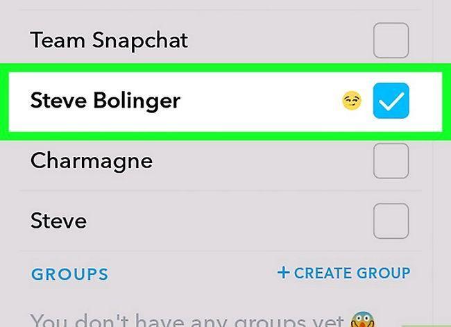Prent getiteld Redigeer prente op Snapchat op Android Stap 11