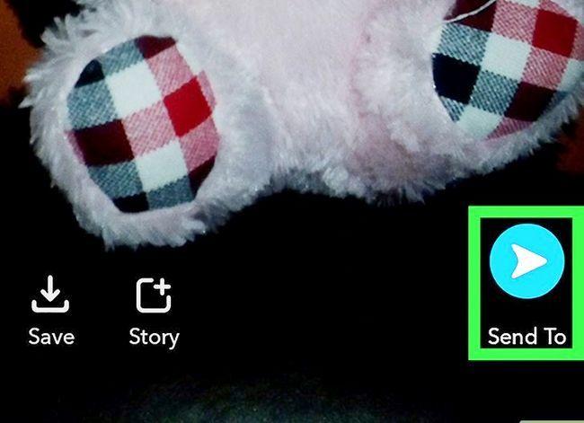 Prent getiteld Redigeer prente op Snapchat op Android Stap 10