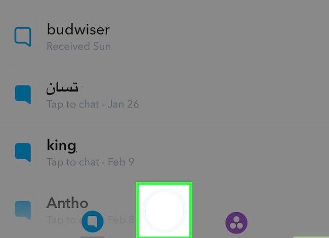 Prentjie getiteld Wysig Snapchat Memories Stap 2