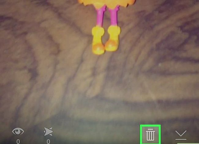 Prent getiteld Video`s wysig op Snapchat Stap 12