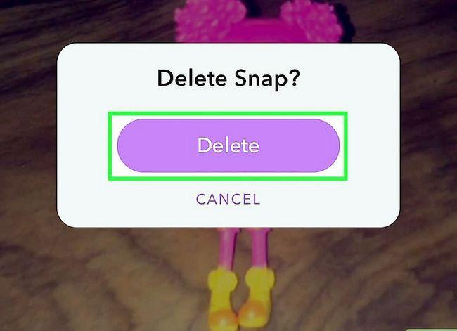 Prent getiteld Video`s wysig op Snapchat Stap 13