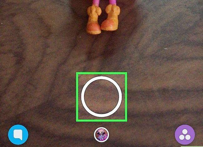 Prent getiteld Video`s wysig op Snapchat Stap 2
