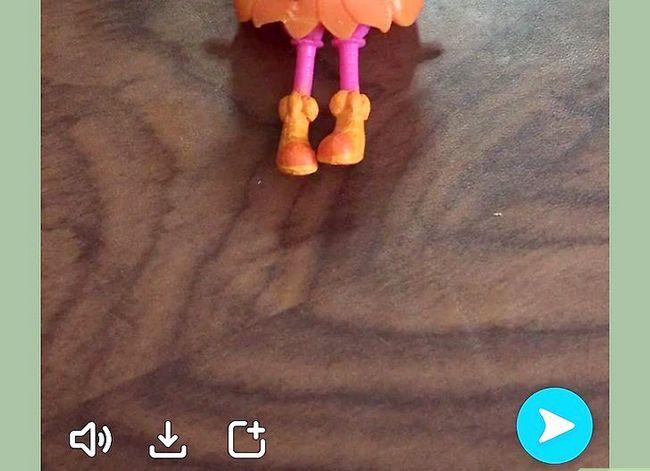 Prent getiteld Video`s wysig op Snapchat Stap 3