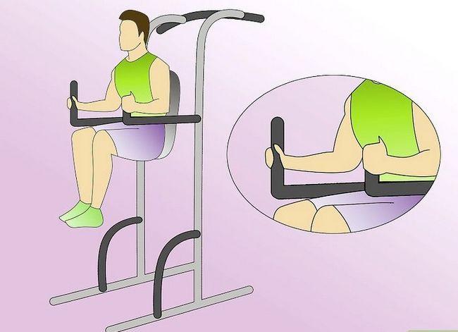Prent Titel Werk Abdominale Met Die Kaptein`s Chair Step 1