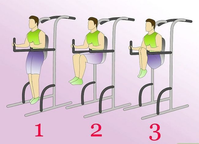 Prent Titel Werk Abdominale Met Die Kaptein`s Chair Step 6