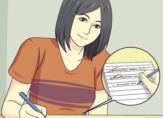 Prent getiteld Skryf persoonlike doelstellings Stap 4
