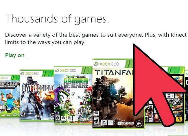 Prent getiteld Kies tussen `n Xbox 360 en `n Wii Gaming Stelsel Stap 5