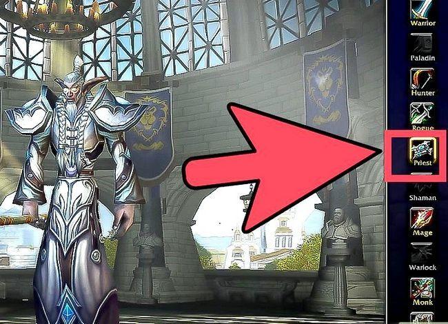 Beeld getiteld Kies die beste klas en wedloop vir jouself in World of Warcraft Stap 2
