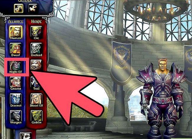 Prent getiteld Kies die beste klas en wedloop vir jouself in World of Warcraft Stap 3
