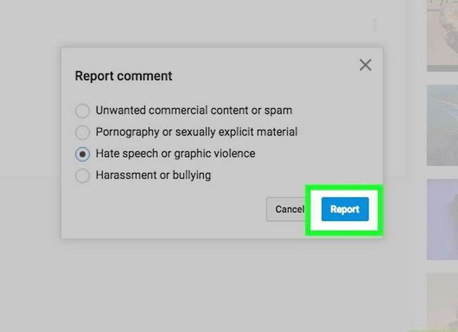 Prent getiteld Verwyder kommentaar op YouTube Stap 11