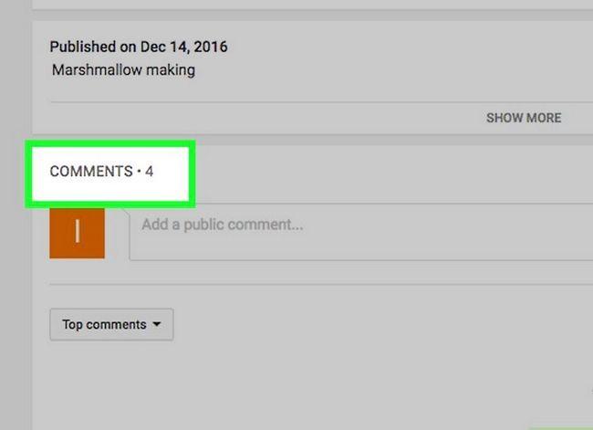 Prent getiteld Verwyder kommentaar op YouTube Stap 7
