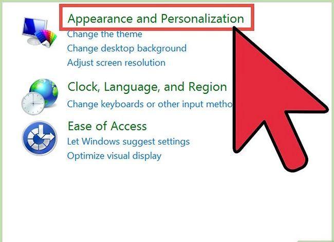 Prent getiteld Verwyder Outlook Express Stap 1