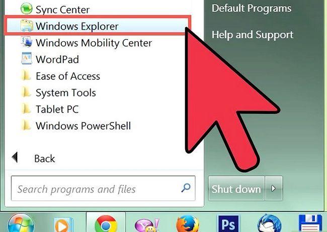 Prent getiteld Verwyder Outlook Express Stap 3