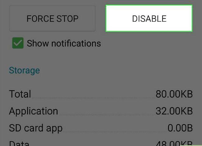 Prent getiteld Verwyder die Samsung Pay App Stap 9