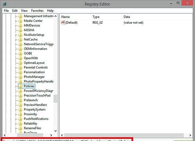 Prent getiteld Verwyder inhoud adviseur wagwoord in Internet Explorer Stap 5