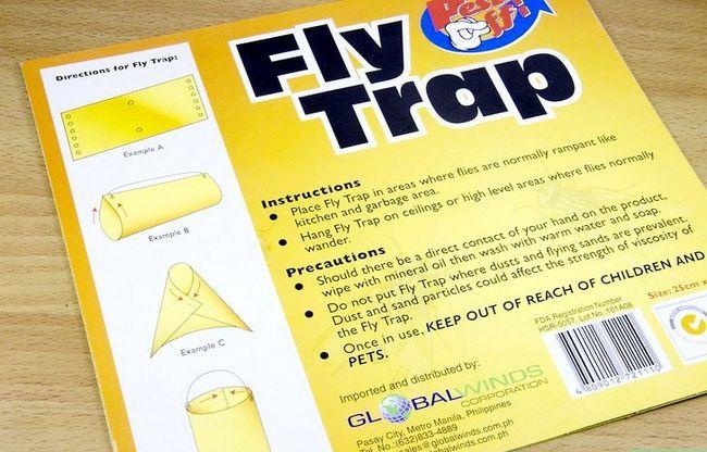 Prent getiteld Get rid of Flies Stap 6