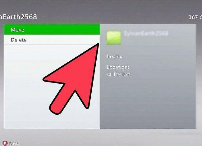 Prent getiteld Verwyder Xbox profiele Stap 4