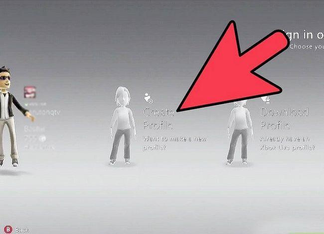 Prent getiteld Verwyder Xbox profiele Stap 6