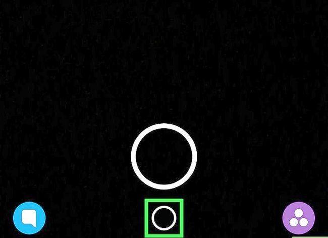 Prent getiteld Memories verwyder op Snapchat Stap 2