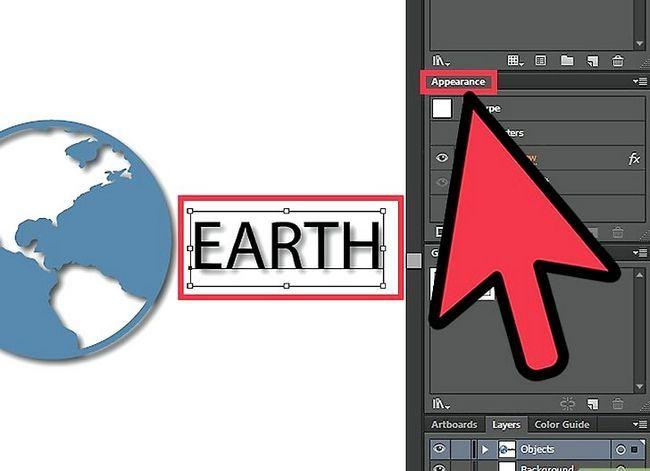 Prent getiteld Verwyder `n Drop Shadow in Adobe Illustrator Step 2