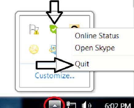 Prent getiteld Skype Quit button.jpg