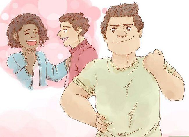 Prent getiteld Kry `n meisie om jou vriendin te wees Stap 4