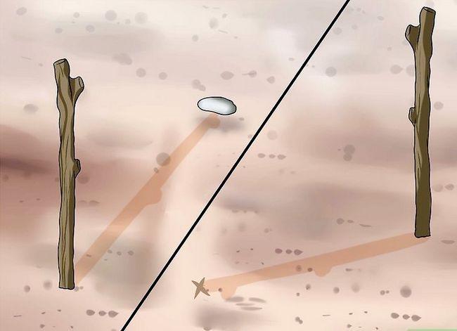 Prent getiteld Find True North sonder kompas Stap 2