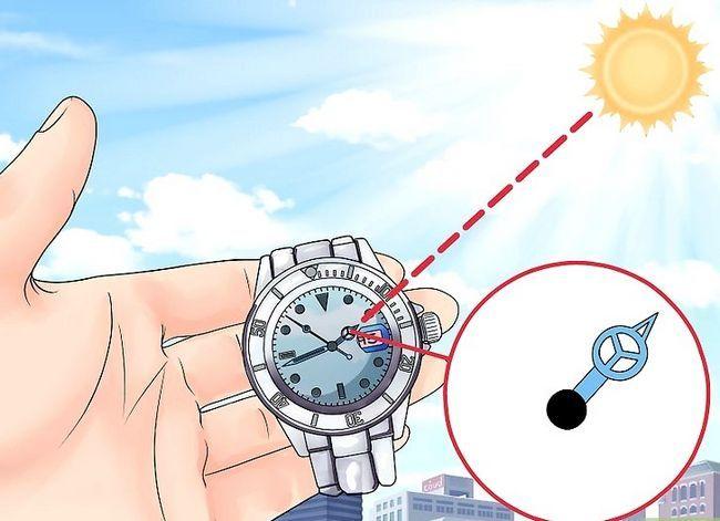 Prent getiteld Find True North sonder kompas Stap 22